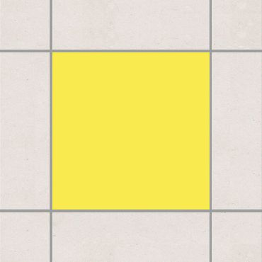 Fliesenaufkleber - Colour Lemon Yellow Gelb