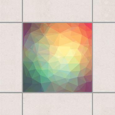 Fliesenaufkleber - No.RY32 Triangular