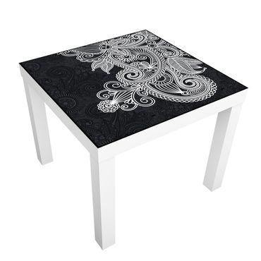 Möbelfolie für IKEA Lack - Klebefolie Gothic Ornament
