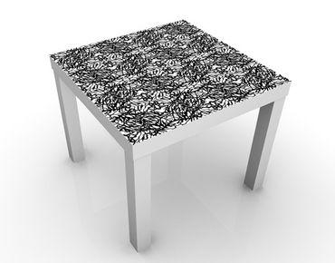 Beistelltisch - Abstraktes Design Schwarzweiß