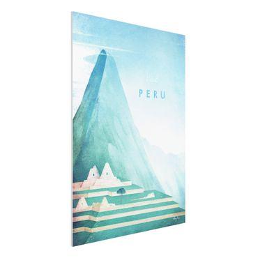 Forex Fine Art Print - Reiseposter - Peru - Hochformat 4:3