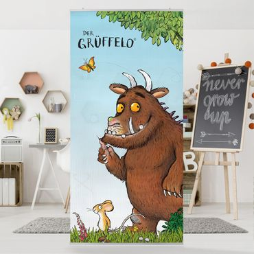 Raumteiler Kinderzimmer - Grüffelo - Folgt der Maus 250x120cm