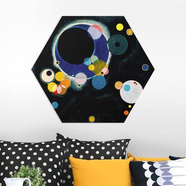 Hexagon Bild Forex - Wassily Kandinsky - Skizze Kreise