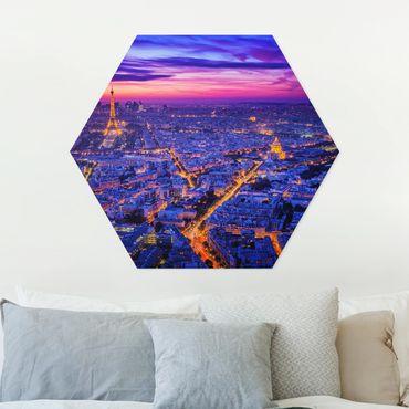 Hexagon Bild Forex - Paris bei Nacht