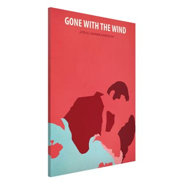 Magnettafel - Filmposter Gone with the wind - Memoboard Hochformat 3:2