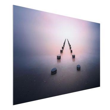 Forex Fine Art Print - Zen am Strand - Querformat 2:3