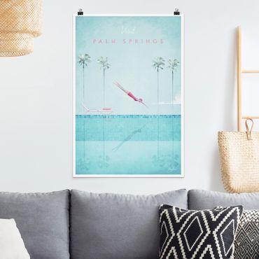 Poster - Reiseposter - Palm Springs - Hochformat 3:2