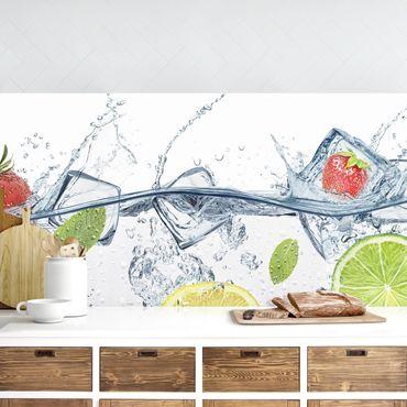 Küchenrückwand - Frucht Cocktail