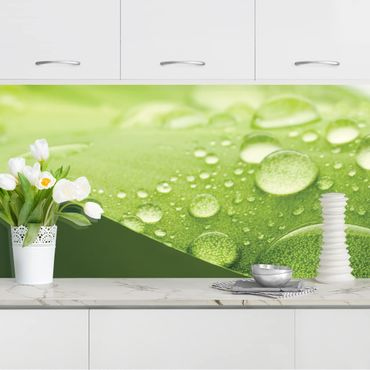 Küchenrückwand - Drops of Nature