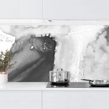 Küchenrückwand - Dunst und Wasser I