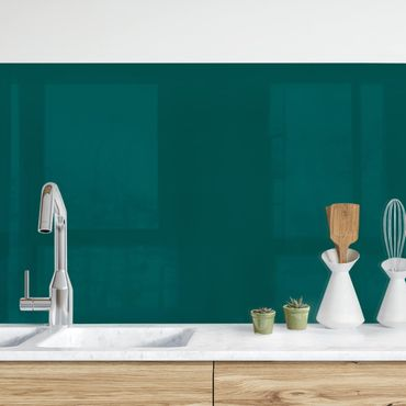Küchenrückwand - Piniengrün