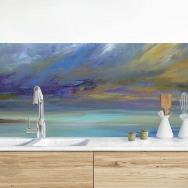 Küchenrückwand - Himmel über Küste