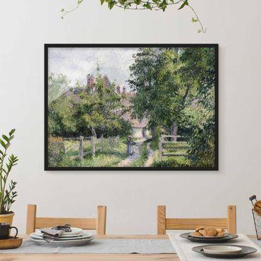Bild mit Rahmen - Camille Pissarro - Saint-Martin - Querformat 3:4