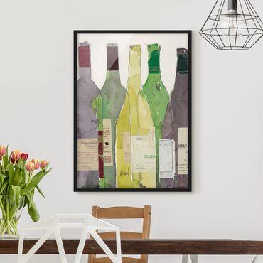 Bild mit Rahmen - Wein & Spirituosen III - Hochformat 4:3