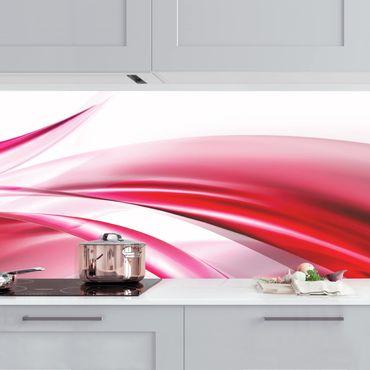 Küchenrückwand - Pink Dust