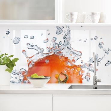 Küchenrückwand - Frische Tomate