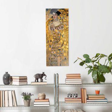Glasbild - Gustav Klimt - Adele Bloch-Bauer I - Panel