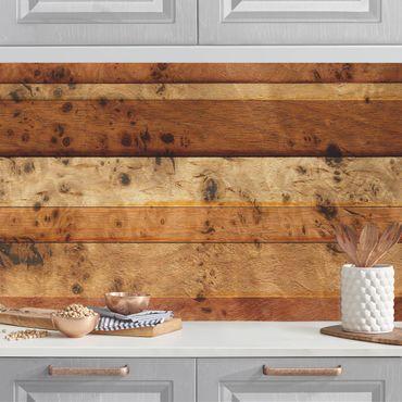 Küchenrückwand - Woody Birdseye
