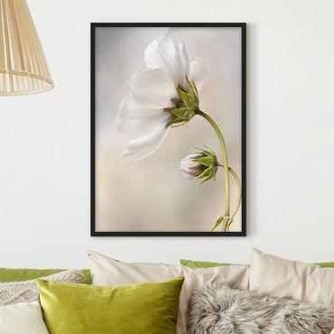Bild mit Rahmen - Himmlischer Blütentraum - Hochformat 3:4