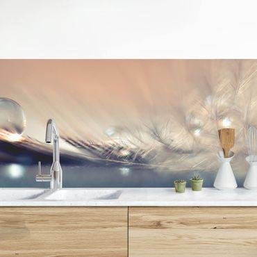 Küchenrückwand - Story of a Waterdrop