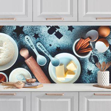 Küchenrückwand - Backen für Sterngucker