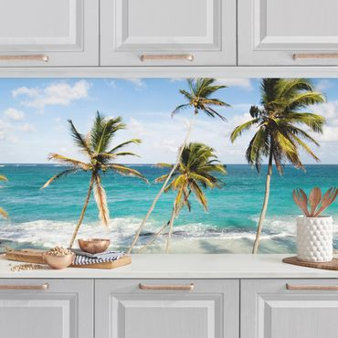 Küchenrückwand - Beach of Barbados