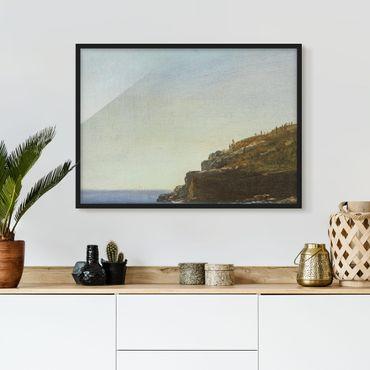 Bild mit Rahmen - Albert Bierstadt - California Coast - Querformat 3:4