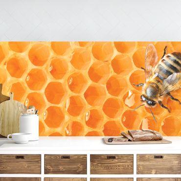 Küchenrückwand - Honey Bee