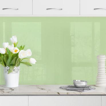 Küchenrückwand - Mint
