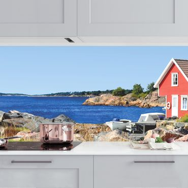 Küchenrückwand - Urlaub in Norwegen