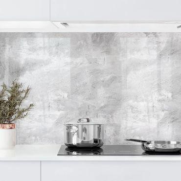 Küchenrückwand - Industrie-Look Betonoptik