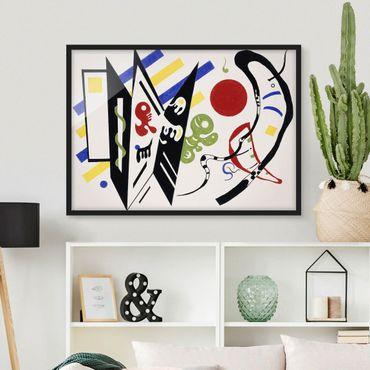 Bild mit Rahmen - Wassily Kandinsky - Reciproque - Querformat 3:4