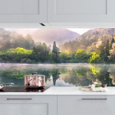 Küchenrückwand - Morgenruhe