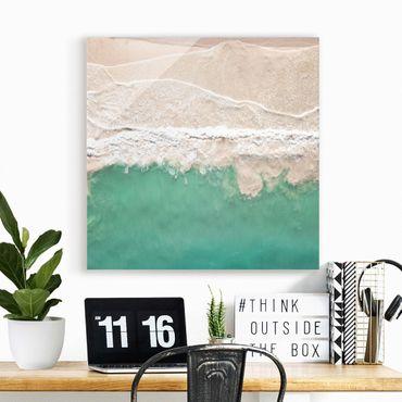 Glasbild - Das Meer - Quadrat