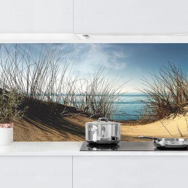 Küchenrückwand - Sanddüne