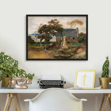Bild mit Rahmen - Auguste Renoir - Treboul - Querformat 3:4