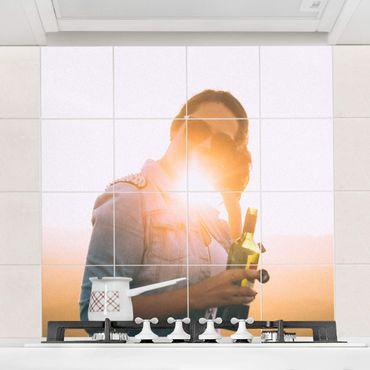 Fliesenbild selbst gestalten 15x15 cm