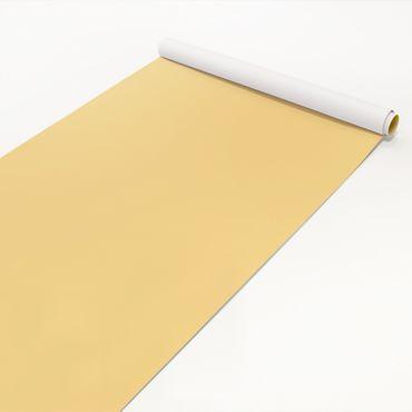 Klebefolie gelb einfarbig - Honig pastell - Bastelfolie selbstklebend hellgelb