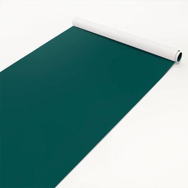 Klebefolie grün-blau einfarbig - Piniengrün - Bastelfolie selbstklebend