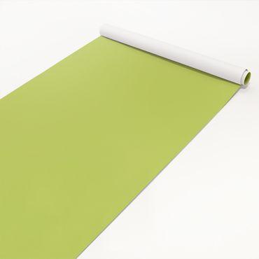 Klebefolie apfelgrün einfarbig - Frühlingsgrün - Folie selbstklebend hellgrün