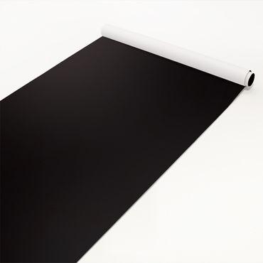 Klebefolie schwarz einfarbig - Tiefschwarz - Selbstklebende Folie