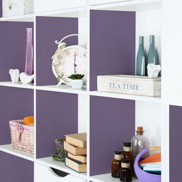 Möbelfolie lila einfarbig - Flieder - Folie für Möbel violett - selbstklebend