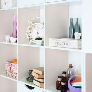 Möbelfolie pastell einfarbig - Perlmutt - Klebefolie für Möbel