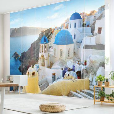Schiebegardinen Set - Santorini - Flächenvorhänge