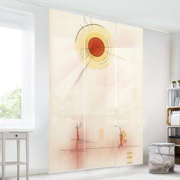 Schiebegardinen Set - William Turner - Monte Rosa - Flächenvorhänge