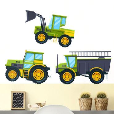 Wandtattoo - Traktor und Co