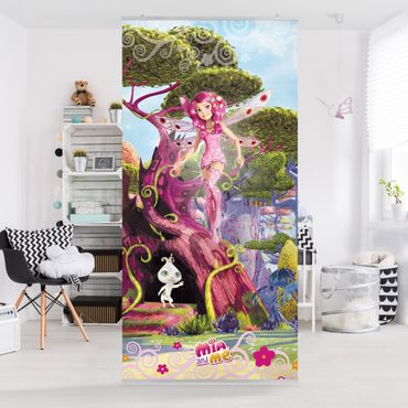 Raumteiler Kinderzimmer - Mia and me - Mia und Phuddle 250x120cm