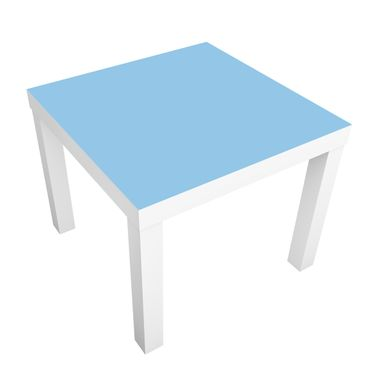 Möbelfolie für IKEA Lack - Klebefolie Colour Light Blue