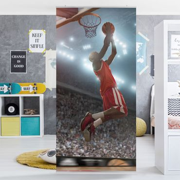 Raumteiler Kinderzimmer - Dunking 250x120cm