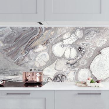 Küchenrückwand - Gesteinsschmelze I